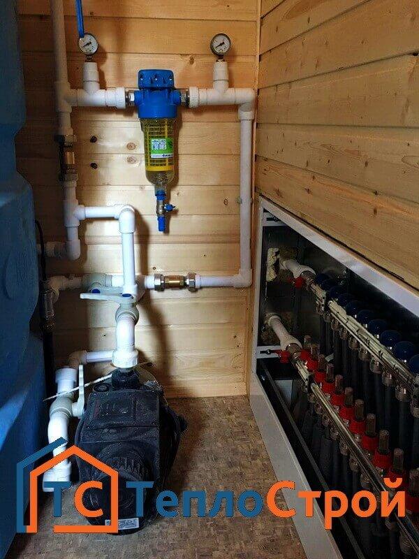 Монтаж конвекторов отопления в смете